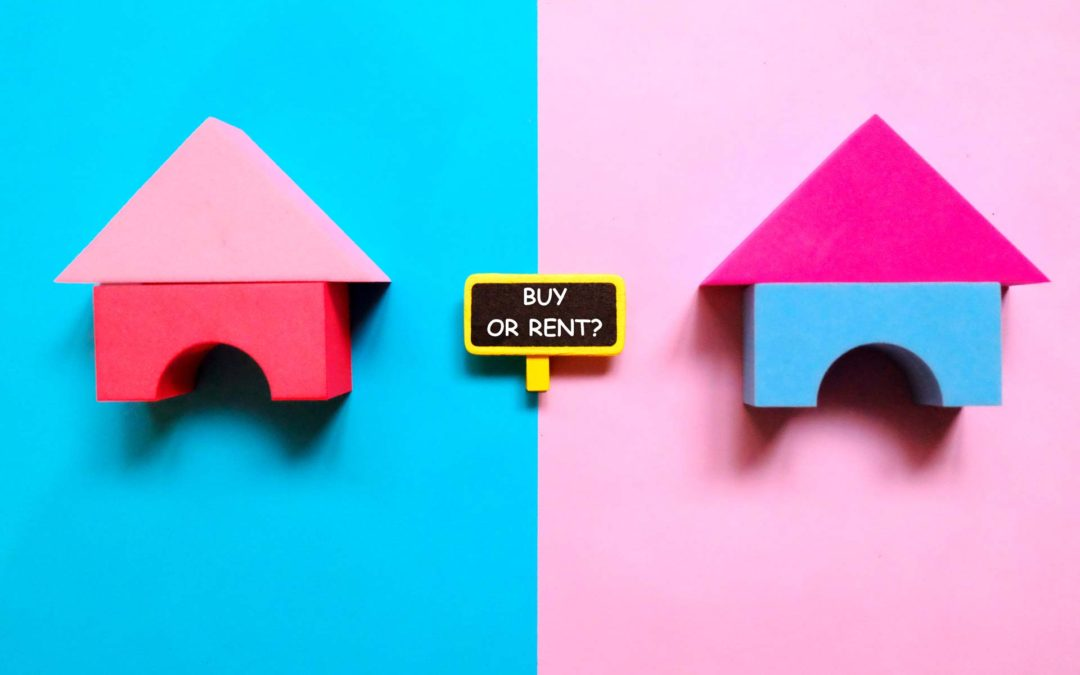 Is it better to rent or is it better to buy a home?